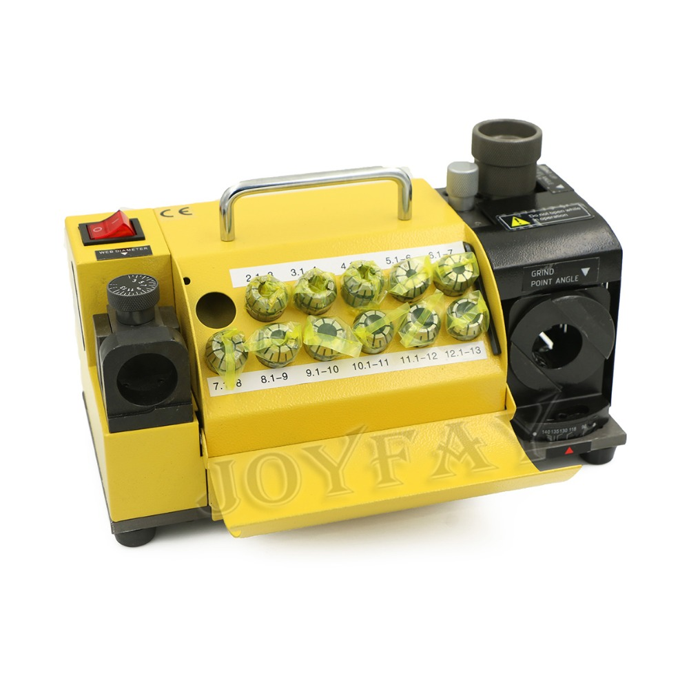 Drill Grinder Grinding Machine MR-13A Drill Bit Sharpener 3-13 mm 100-135 Angle CE Certification One Year Warranty peristaltic pump v6 dispensing 2 channel 2 yz2515x 0 007 1740 ml min per channel ce certification one year warranty