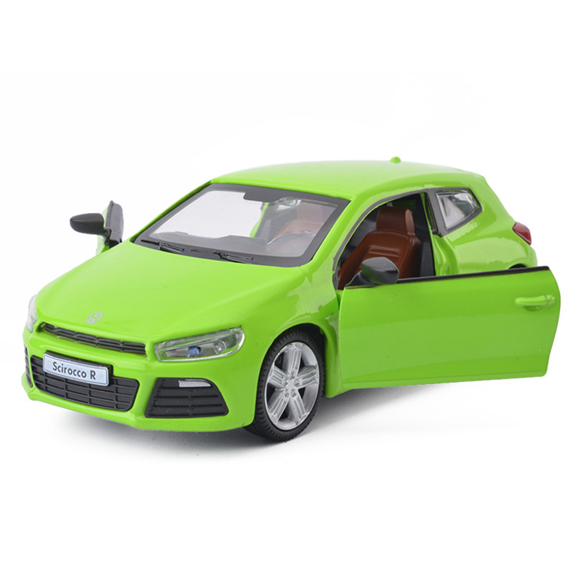 1:32 Scirocco Coupe Simulation Toy Vehicles Model Alloy Pull Back Children Toys Genuine License Collection Gift Off-Road Kids 1 32 suv ml63 simulation toy car model alloy pull back children toys genuine license collection gift off road vehicle kids toy