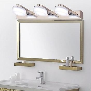 3 luces moderno espejo luz del ba o del led led pared - Lampara led bano ...