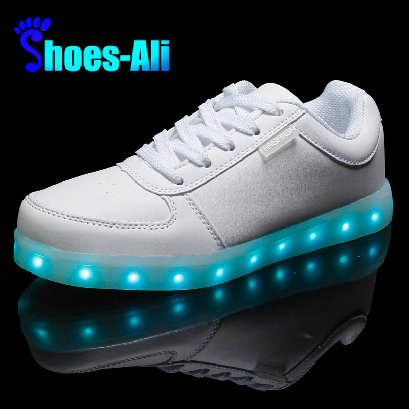 Led lumineux chaussures 2015 Casual chaussures LED