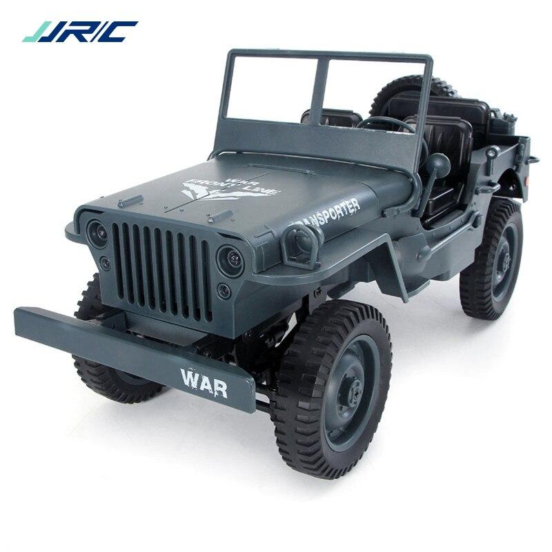 JJRC Q65 1:10 RCカー2.4G 4WDコンバーチブルリモコンライトジープ四輪駆動オフロードミリタリーカークライミングカーのおもちゃ子供ギフトウィリージープ1 10