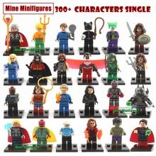 DIY Marvel DC Super Hero  Batman Minifig Building Blocks Models toys superheroes Kids Toys Gifts