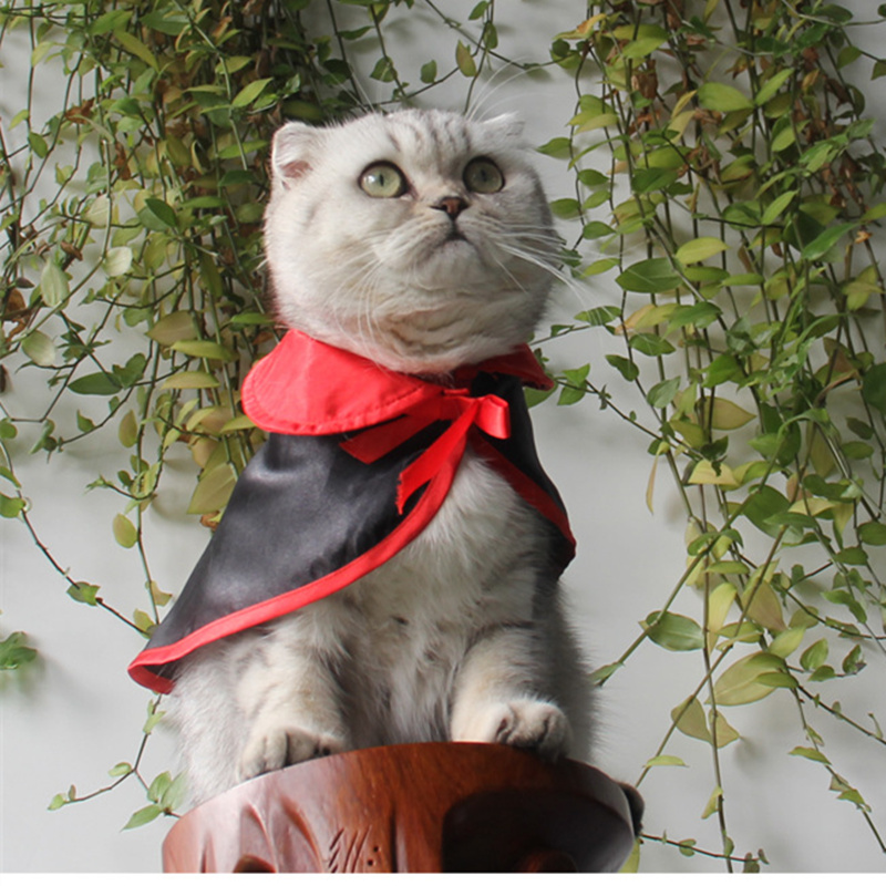 New Cat Halloween Christmas Costumes magic cloak mantle dress suit clothes Pet Puppey cat Product For Small Dog Cat all seasons