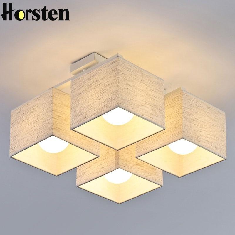 Model Plafon Kayu Ruang Tamu gaya baru cina angin cina led lampu plafon lampu untuk rumah