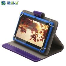 IRULU eXpro X1 7 «Android 4.4 Tablet PC 1024*600 HD 16 GB ROM Soutien WIFI Google GMS Testé Quad Core Double caméra W/Étui En Cuir