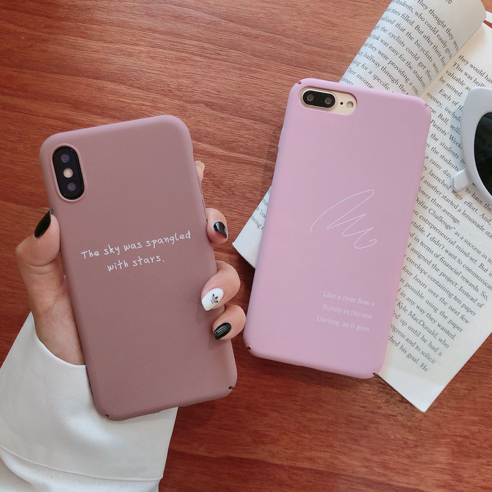 Brand NEW HIgh Quality Anti scratch Matte Plastic Hard Case for iPhone 6 6plus 8 8plus Phone Cover Coque Fundas Shell Capas Hull in Fitted Cases from Cellphones Telecommunications