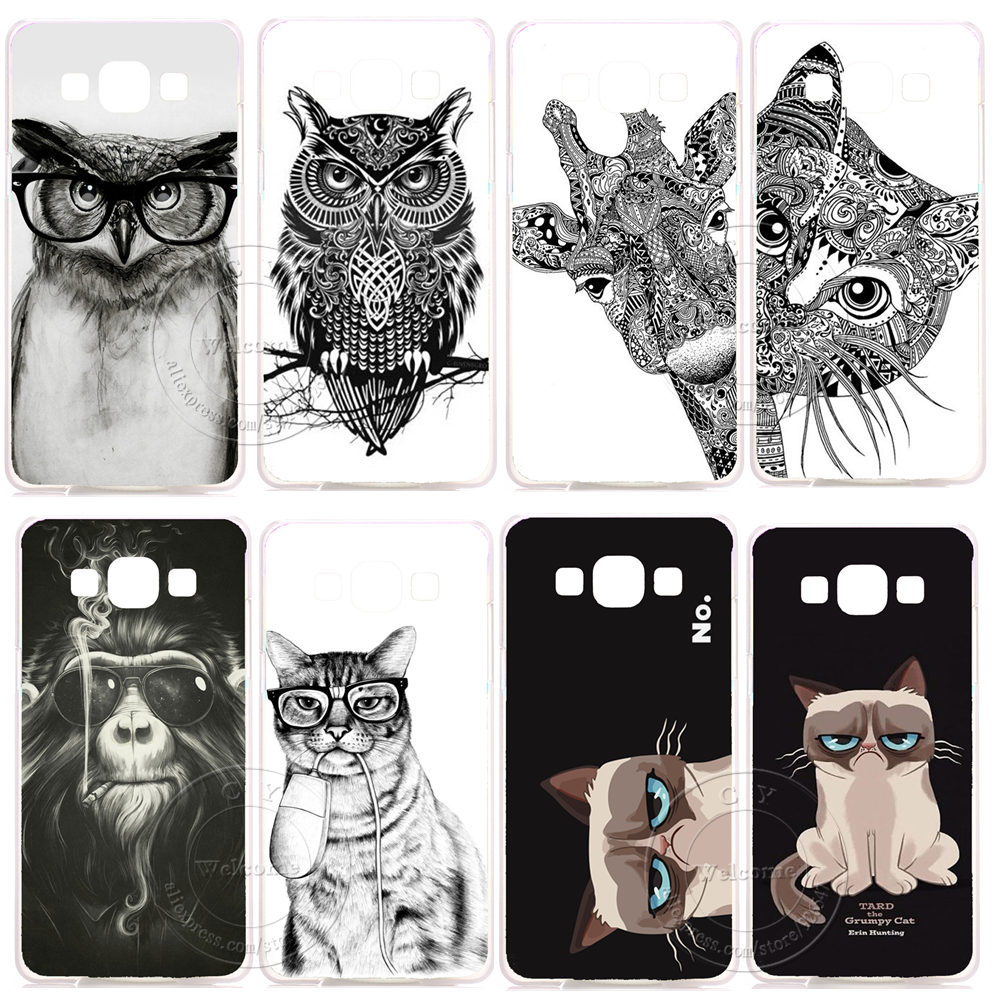 Hot Coque Cat Case Cover For...