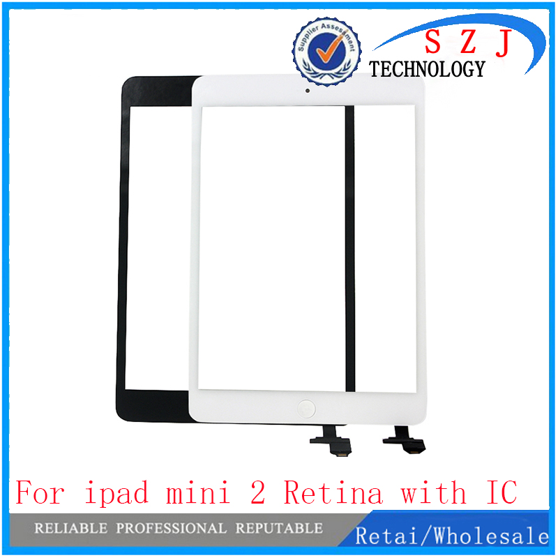New case For iPad Mini A1432 A1454 A1455 Mini 2 A1489 A1490 A149 Digitizer touch screen glass sensor Panel with ic + home button mimi® for ipad mini touch screen digitizer ic chip home button and flex cable assembly wifi or cellular or with retina display model a1432 a1454 a1455 a1489 and a1490