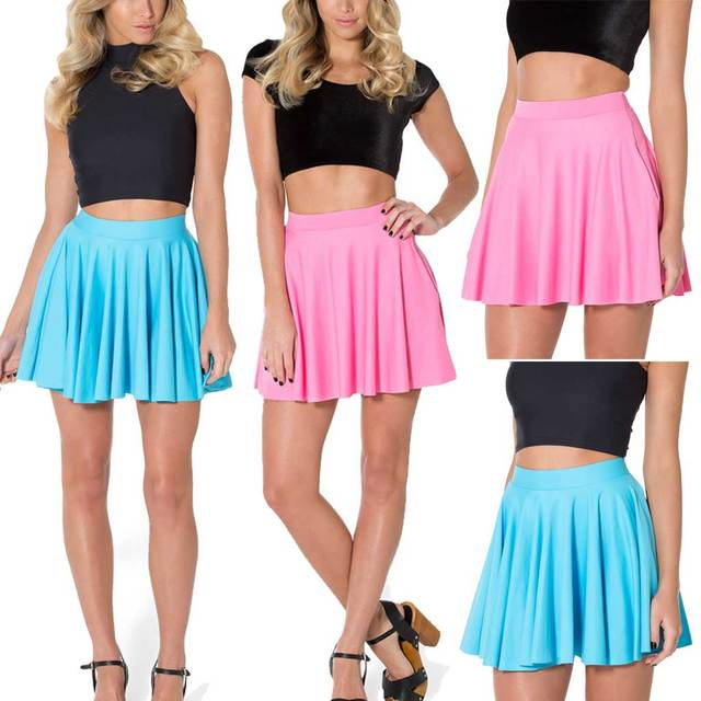 2feeb82d29 Fashion Matte Women Skirt Plus Size Tennis Skirts Saias Femininas 2015 Short  Skater Skirt Free Shipping