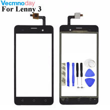 Vecmnoday For Wiko Lenny 3 Touch Panel Touch Screen Digitizer glass Senosr For Wiko Lenny3 Phone Free Shipping +Tools(China)