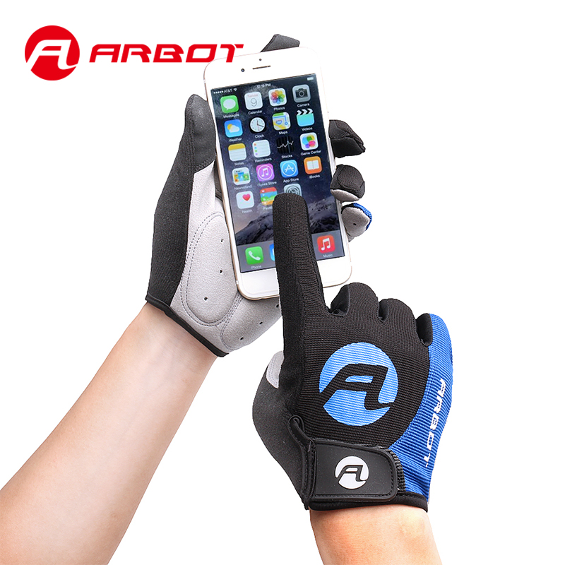Arbot Cycling Gloves Full Finger Mittens Tactical Glove Guantes Ciclismo Bicicleta Glove Bicycle Accessories Motocross Glove