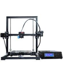 Автоматическое Выравнивание Алюминиевая Конструкция 3D Печати DIY KIT X3A Большой Размер Печати 220*220*300 мм ЖК-Экран MK8 Сопла