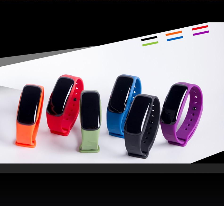 New C1 Smart Bracelet Bluetooth Heart Rate Blood Pressure Oxygen Monitor Health Smartband Activity Tracker Pedometer