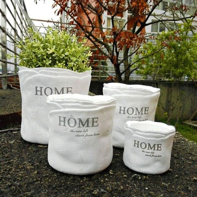 Weiß Keramik blumentopf pflanzgefäße für verkauf matt pflanzer ...