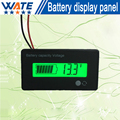 Free shipping 1x12V24V36V LiFePO4 battery displays capacity&voltage meter   subse ction