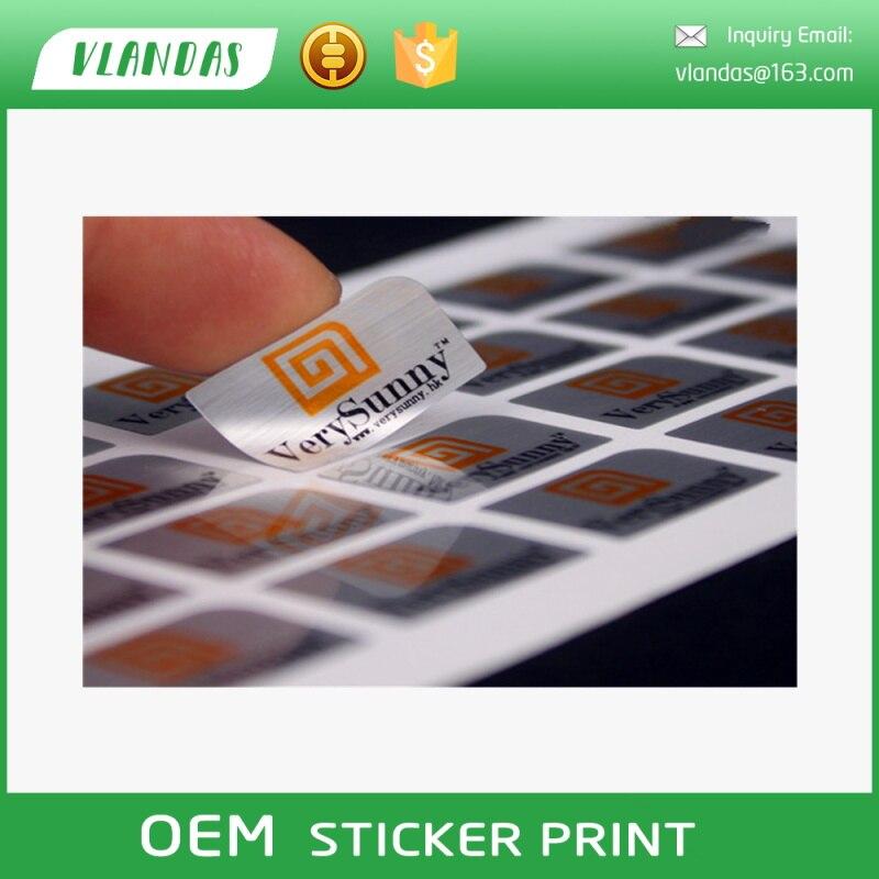 BGJ JD001 Custom Printing Sticker, Label Printing, Logo