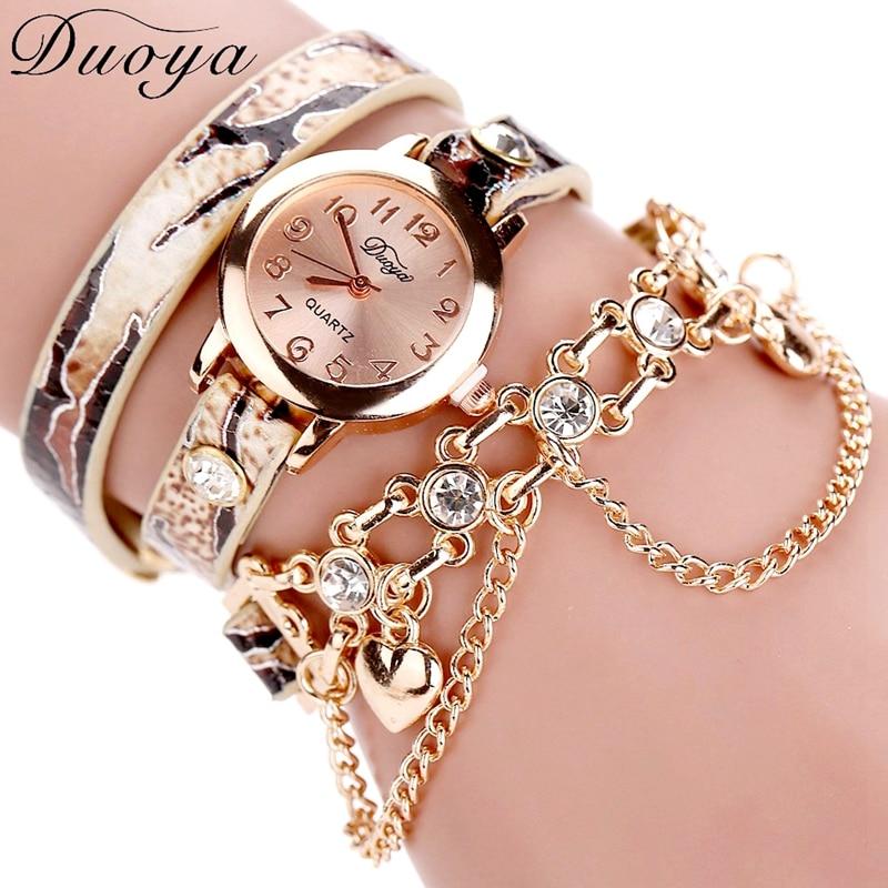Women Leopard Luxury WristWatch