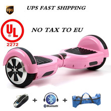 2 Electric Balancing Scooter Pink with charger carrying case