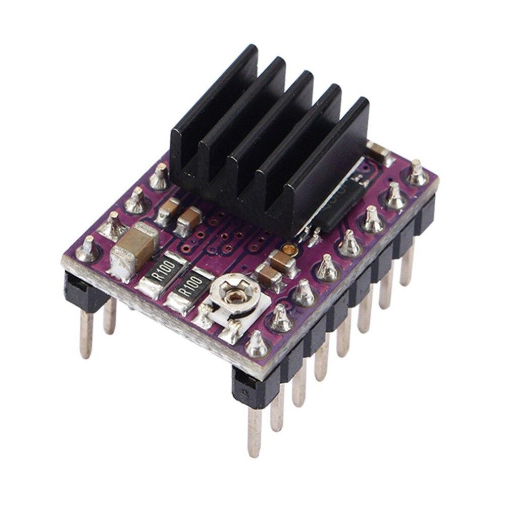 3D Printer StepStick DRV8825 Stepper Motor 4 PCB Board Drive Carrier+Silent Step Stick Protector Set 3D Printer Part Accessories