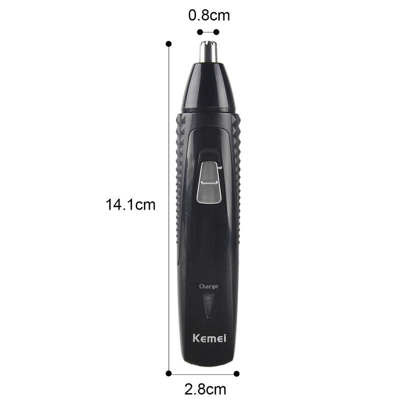 Kemei 3in1 Rechargeable Electric Shaver Skägg Ansikte Ögonbryn - Rakning och hårborttagning - Foto 5