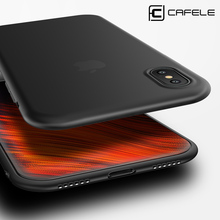 Anti-fingerprint Ultra-thin Soft Case Cover for iPhone X