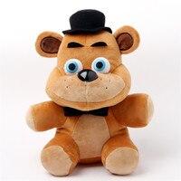 New 1pieces Lot 25cm Five Nights At Freddy S 4style Plush Bonnie China Foxy Freddy Doll