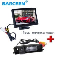 """TFT дисплея автомобиля монитор принести 5 """"широкий экран HD + черный непромокаемые функция автомобиля камера заднего вида для Toyota RAV4 (2009-2012)"""
