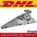 2017 Nueva LEPIN 05062 1359 Unids Estrella Guerra Imperial Súper Destructor estelar Kits de Edificio Modelo Bloques de Ladrillo Niños Juguete de Regalo 75055