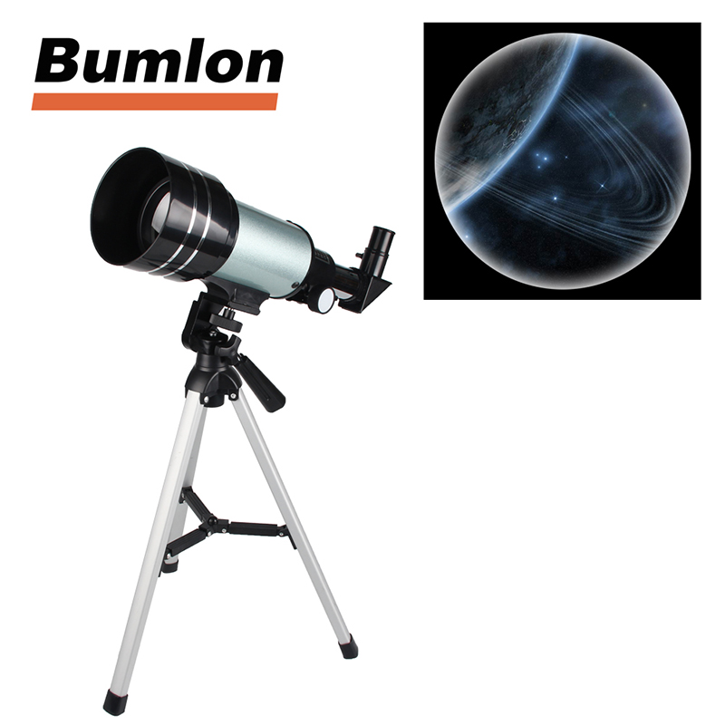 F30070 Astronomical Telescope 15-150x 70mm Zoom High-powered Monocular Digital Eyepiece with Aluminum Tripods RL38-0012 original boshile high power 15 75x25 mini zoom monocular pocket flexible focus zoom telescope for camping dy007