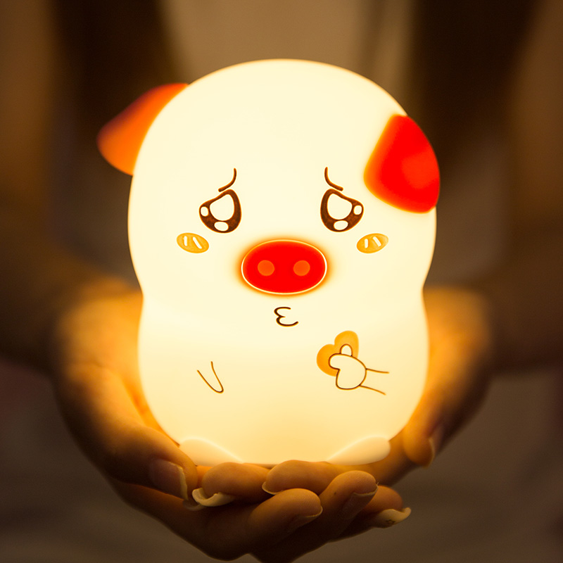 Lampara gato Design Touch Lamp Led Night Lamp Sleep Cat Vakantie Gadgets Pig Led Stanze Schwein PC for Laptop Punch Touch