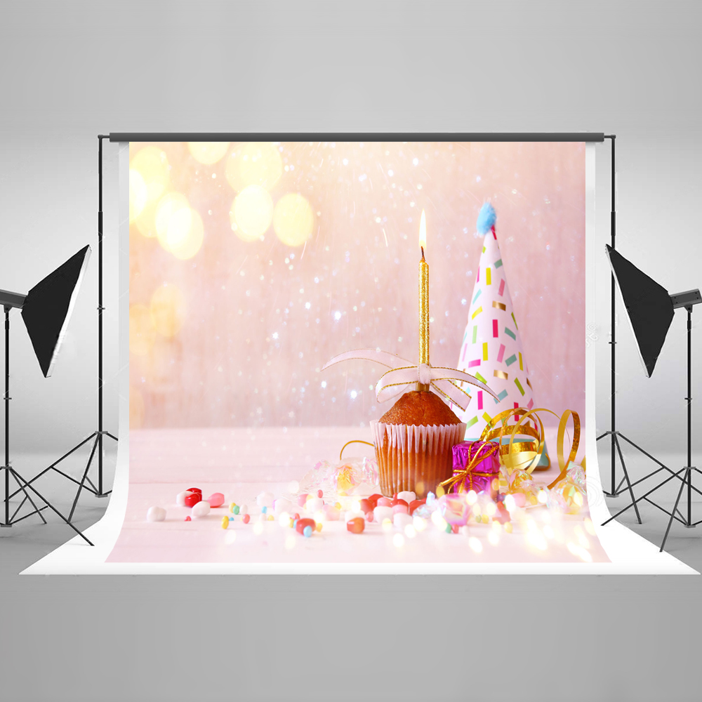 Kate Pink Children Photocall Birthday Background Photography Backdrop Fantasy Princess Backgrounds Photo Studio Cake Backdrop kate photo background birthday custom photography backdrop unicorn party backdrop pink and white striped backdrop