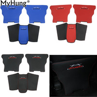 Car Covers Armrests Kick Pad Armrest Protection Mat Cushion Anti Kick Pad For Mitsubishi Outlander Sport
