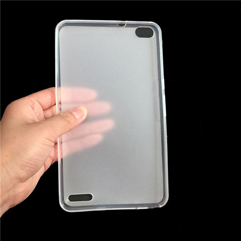 GUKEEDIANZI étui pour Huawei Honor X2 dos souple silicone souple coque arrière en TPU uniquement pour Huawei GEM-703L GEM-702L GEM-701L 7
