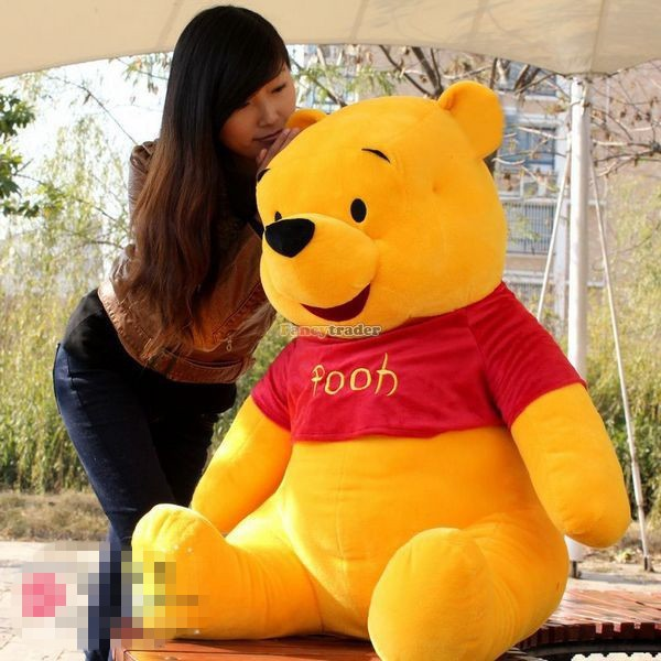 Fancytrader Biggest 39\'\' 100cm Giant Stuffed Cute Winnie Bear, Free Shipping FT50222 (4)