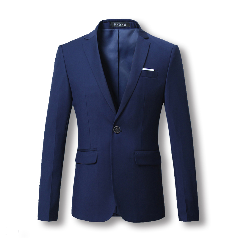 ZhuZunZhe Blazers Jackets Men's Casual Slim Fit Suits