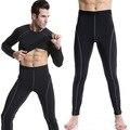 Men High Stretch Tight  Long Low Waist Sexy Men's Legging brand clothing  PRO cargo Pants Designed Sweatpants compression pants