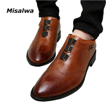 New 2018 Oxford Business Shoes For Men Dress Shoes Leather Office Shoes Summer Spring Zapatos Hombre Black Mens Oxfords