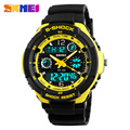 S SHOCK 2017 New SKMEI Luxury Brand  Men Military Sports Watches Digital LED Quartz Wristwatches rubber strap relogio masculino