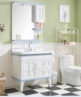 Bathroom cabinet combination. Bathroom wash stand. Wash basin.