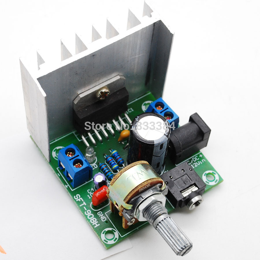 AC/DC12V TDA7297 Rev A Low Noise Audio Amplifier Board 2*15W Dual-Channel Digital Stereo free shipping tda7297