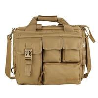FGGS Pro Multifunction Men Military Travel BaG Nylon Shoulder Messenger Bag Handbags Briefcase Large Enough for 14 Laptop/Son