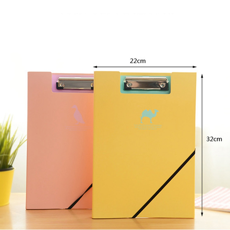 Office & School Supplies Clipboard Plastic A4 Clipboards Cute Stationery Clip Folder Board Desk File Drawing Writing Pad School Office Accessory Tool Moderate Price