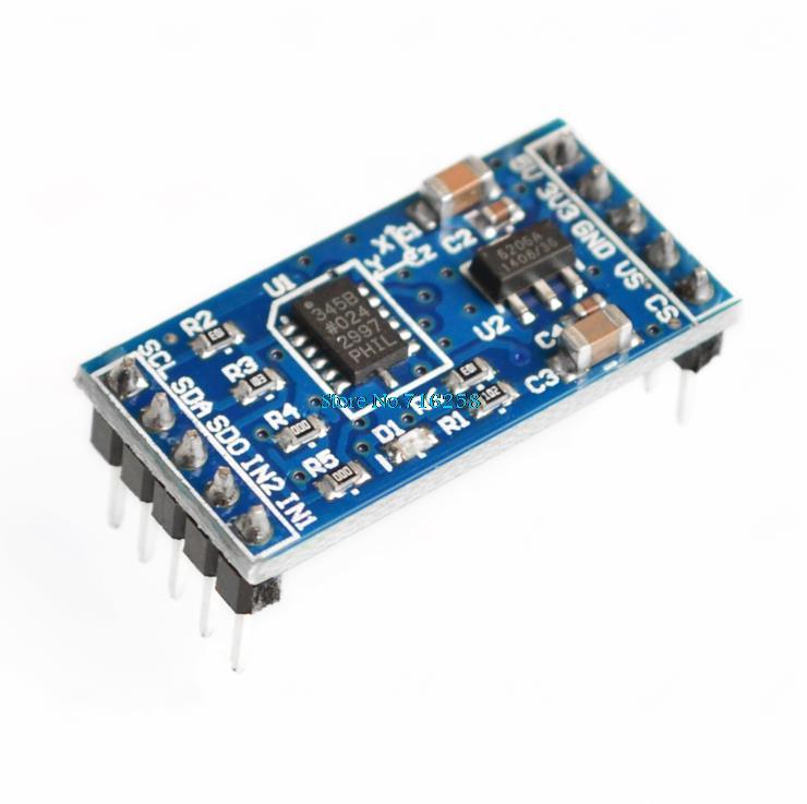 ADXL345 IIC / SPI Digital Angle Sensor Accelerometer Module For Arduino