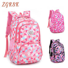 Kids Backpacks Bagpack Fashion Girl School Backpack Bags Waterproof Light Weight Girls Back Pack Printing Bookbags