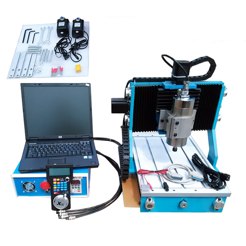 Russia NO TAX, CNC 3040 Mini CNC Router With Circular Rail Axis 800W Spindle PCB Metal Milling Machine for Woodworking russia no tax diy 3040 4axis mini cnc router engraving drilling and milling machine for wood metal cutting