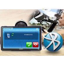 XGODY 886 7 pouce 256 m + 8g Bluetooth AV-IN Voiture Camion GPS Navigation Écran Capacitif FM Navigator Arrière vue Caméra 2018 Europe Carte