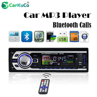 Som Automotivo Autoradio Audio Player 1 DIN Car Radio Kits Stereo FM Transmitter Bluetooth AUX Car MP3 Player USB SD Car Charge