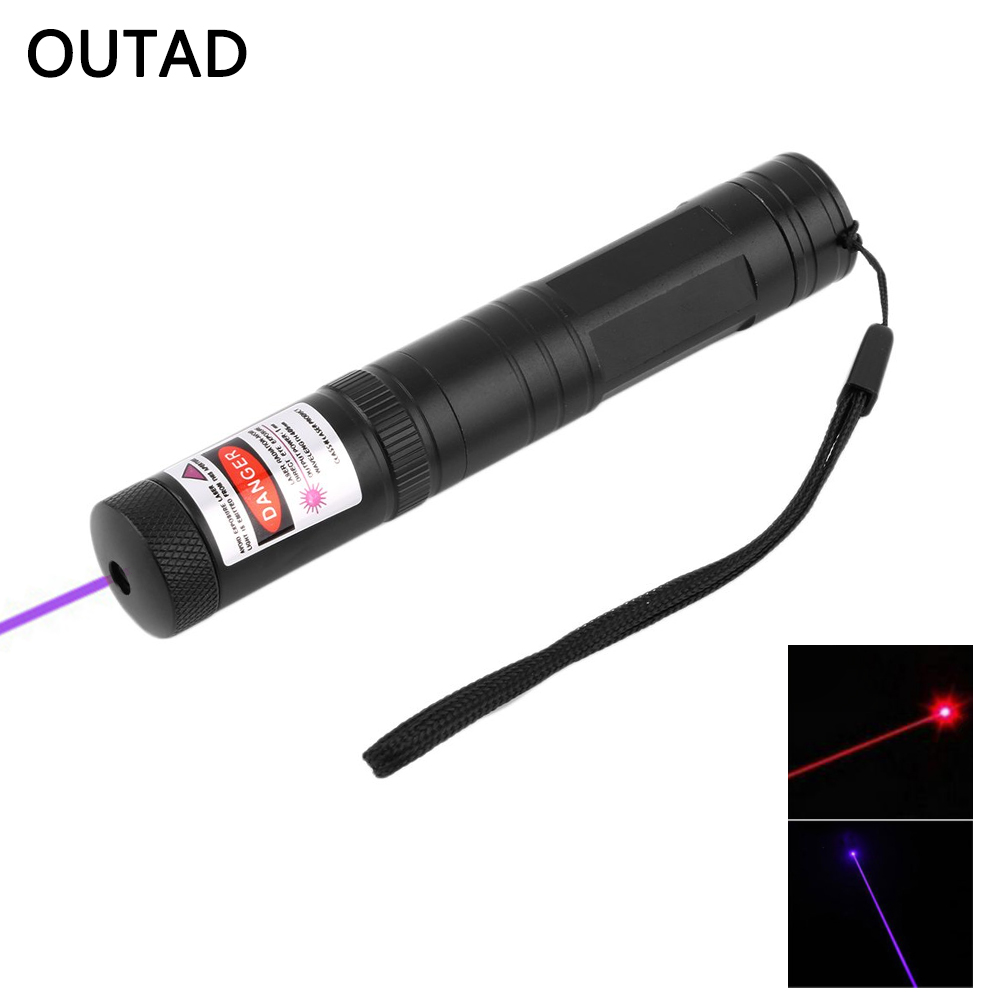 Powerful 851 Adjustable Focus Mode Aerometal Burning 1mW 650nm Wave Length Laser Pointer Light Laser Hot Sale