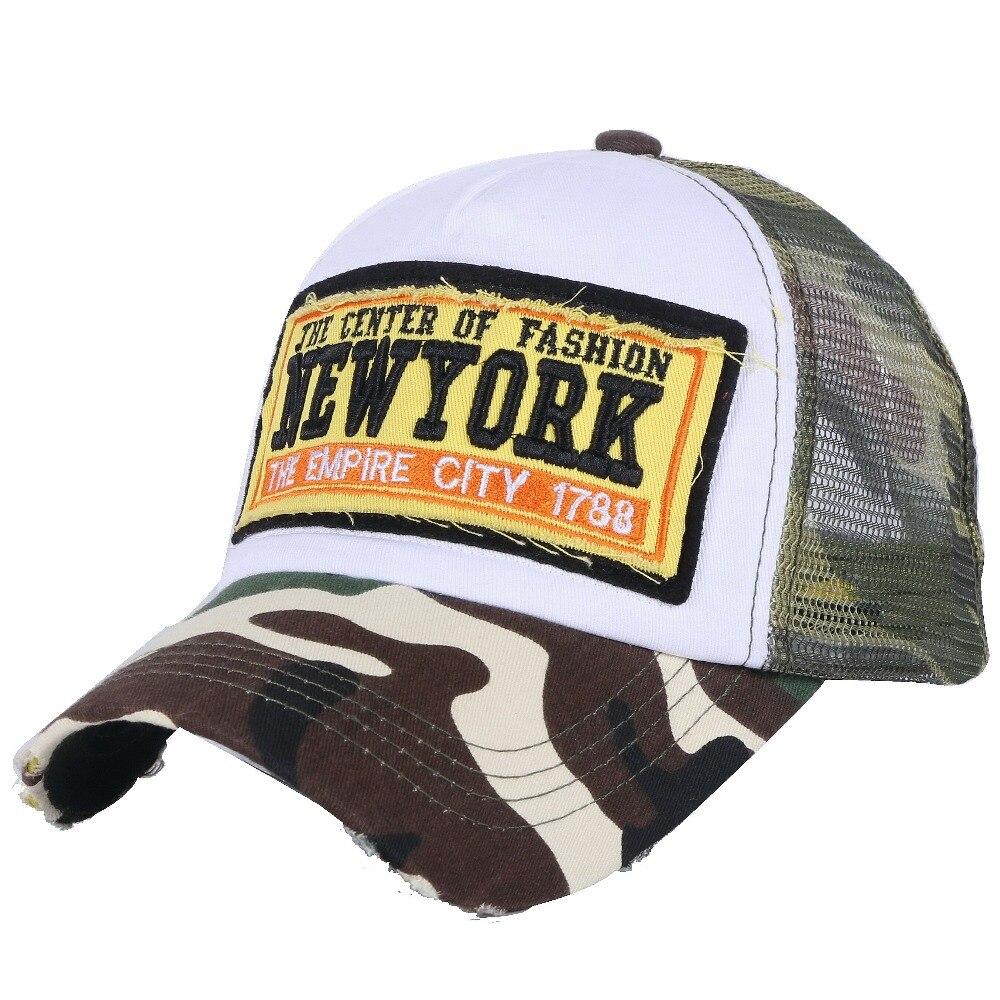 Pas cher en gros femmes hommes casquette de baseball d'été conception personnalisée maille style cool fille garçon mode snapback chapeaux broderie décontracté chapeau