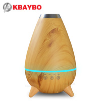 400ml Hot Sale LEDLight Ultrasonic Air Humidifier Mist Maker Fogger Electric Aroma Diffuser Essential Oil Aromatherapy